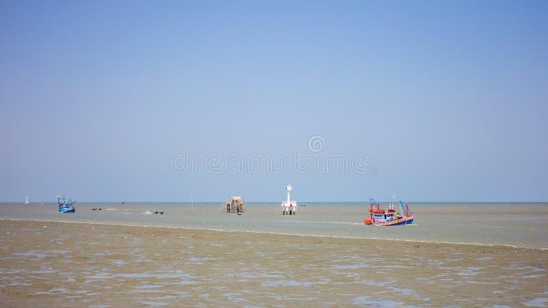 Dwa łodzi rybackiej fotografia stock