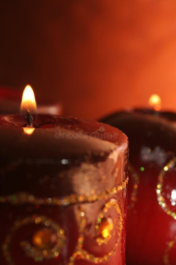 dwa świece. zdjęcia royalty free
