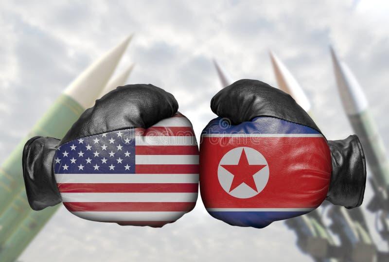 Dwa bokserska rękawiczka zdjęcia stock