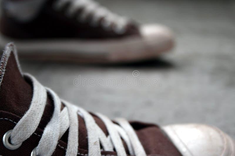 dwa buty. zdjęcia stock
