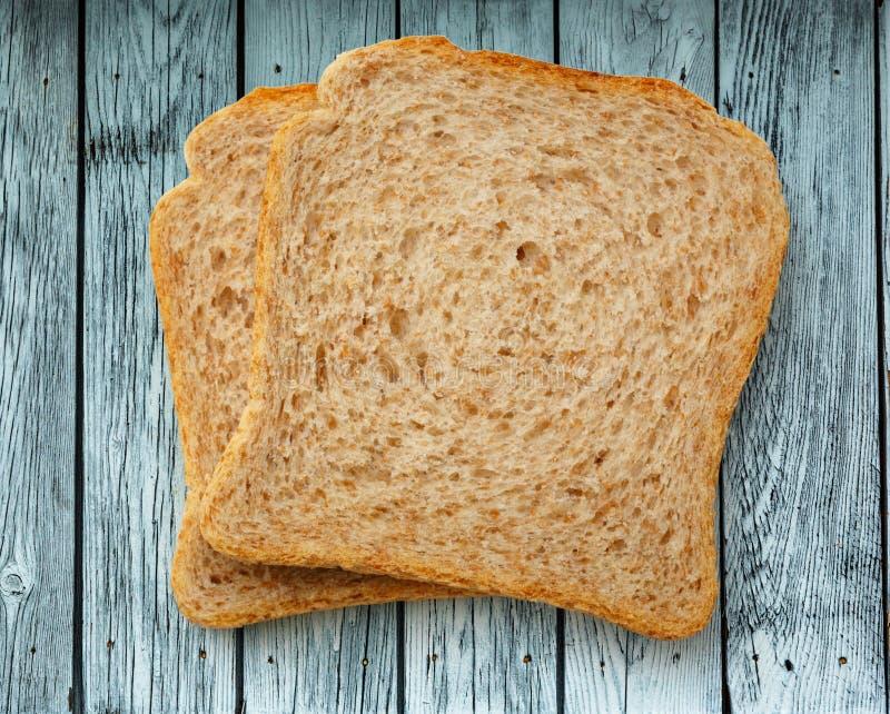 Dwa chlebowego plasterka obrazy royalty free