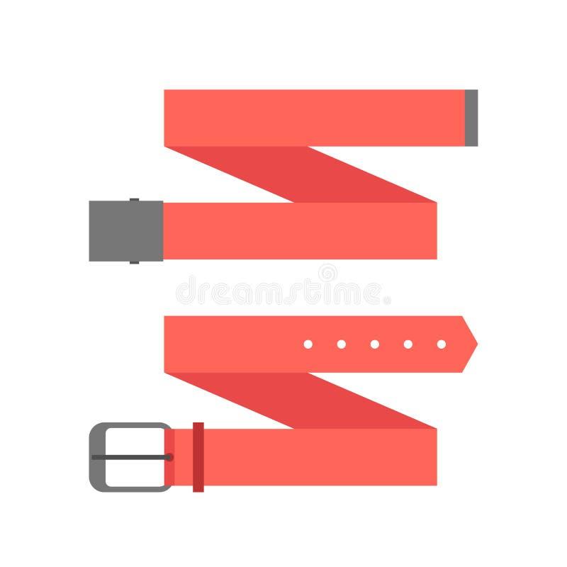 Dwa czerwieni różny pasek ilustracji