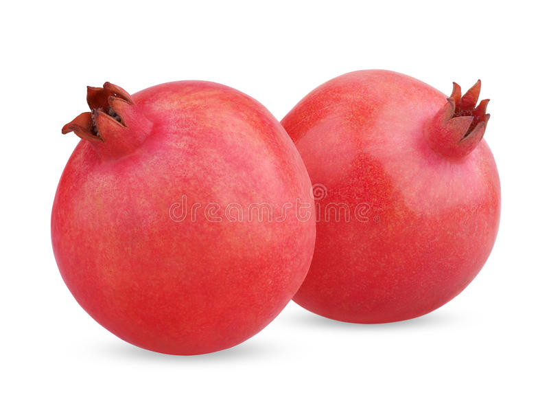 Dwa dojrzałej granatowiec owoc zdjęcie royalty free