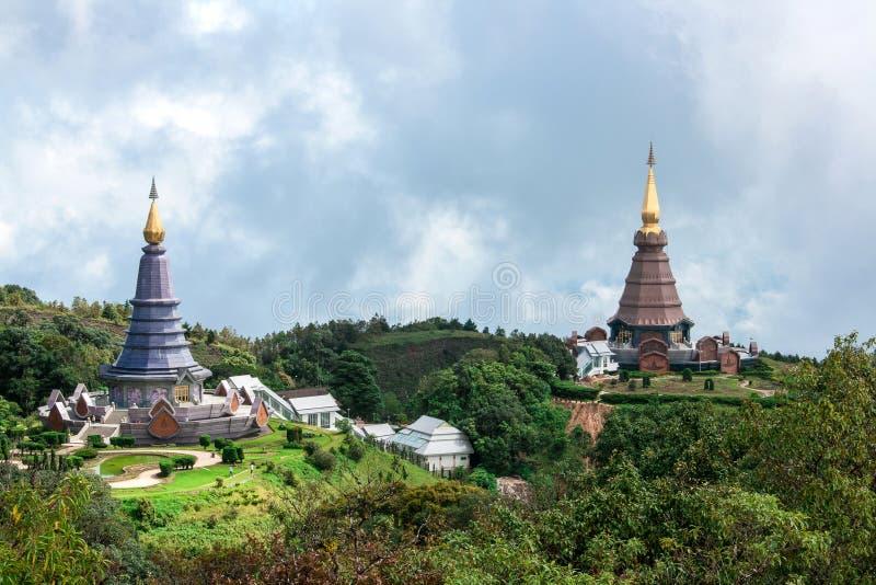 Dwa Duża pagoda fotografia stock