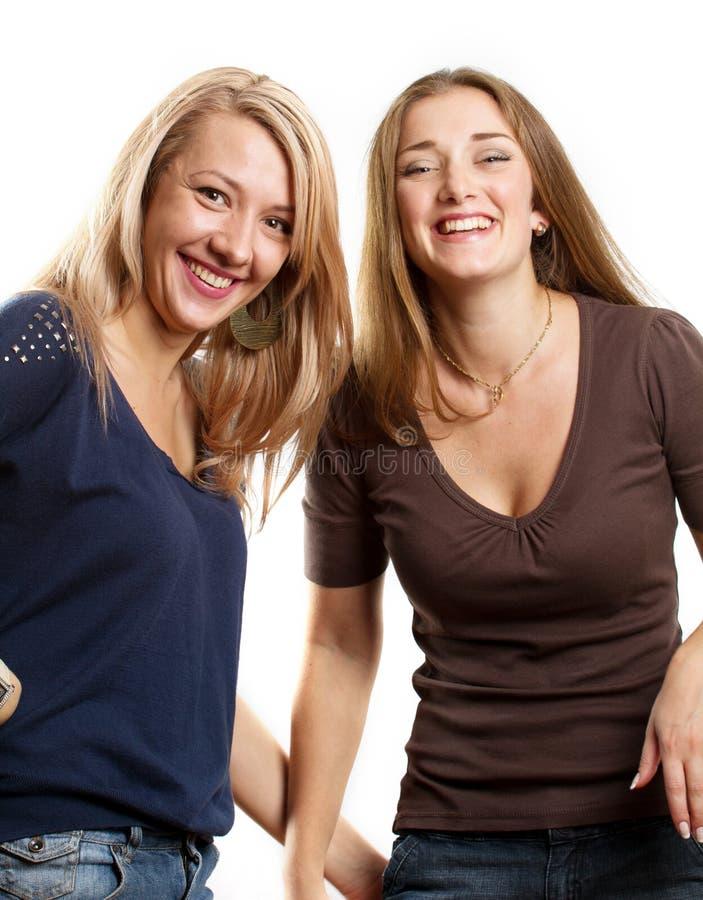 Dwa Europejskiej Kobiety zdjęcia stock
