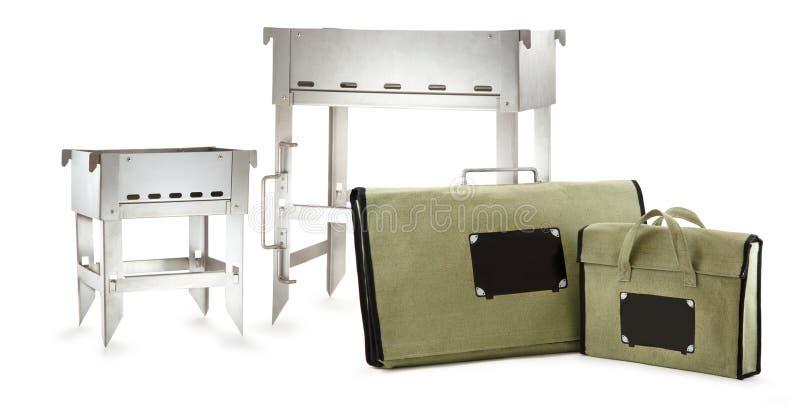 Dwa grillów grill fotografia stock
