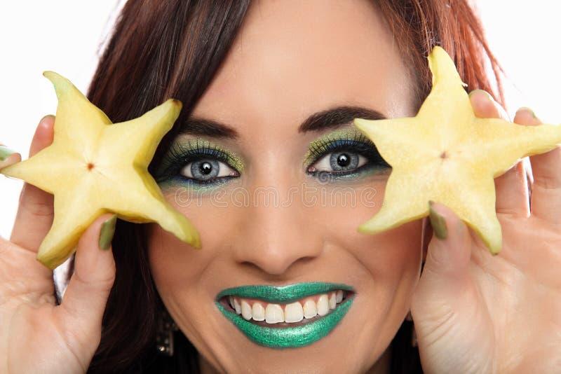 Download Dwa Gwiazdowej Owoc Plasterka Zdjęcie Stock - Obraz złożonej z odżywczy, owoc: 28965164