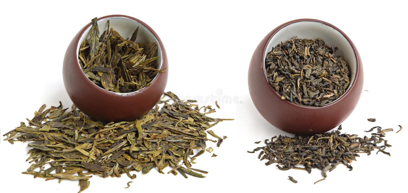 Dwa herbacianej filiżanki zdjęcie royalty free