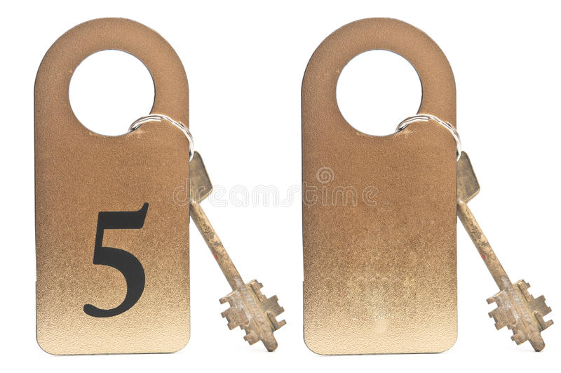 Dwa hotelowego klucza fotografia royalty free