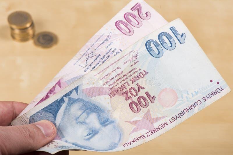 Download Dwa Hundered Tureckich Liras Zdjęcie Stock - Obraz złożonej z inflacja, finanse: 53780314