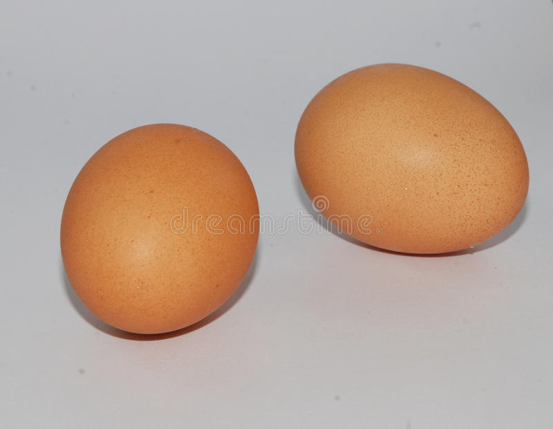 dwa jajka obrazy stock