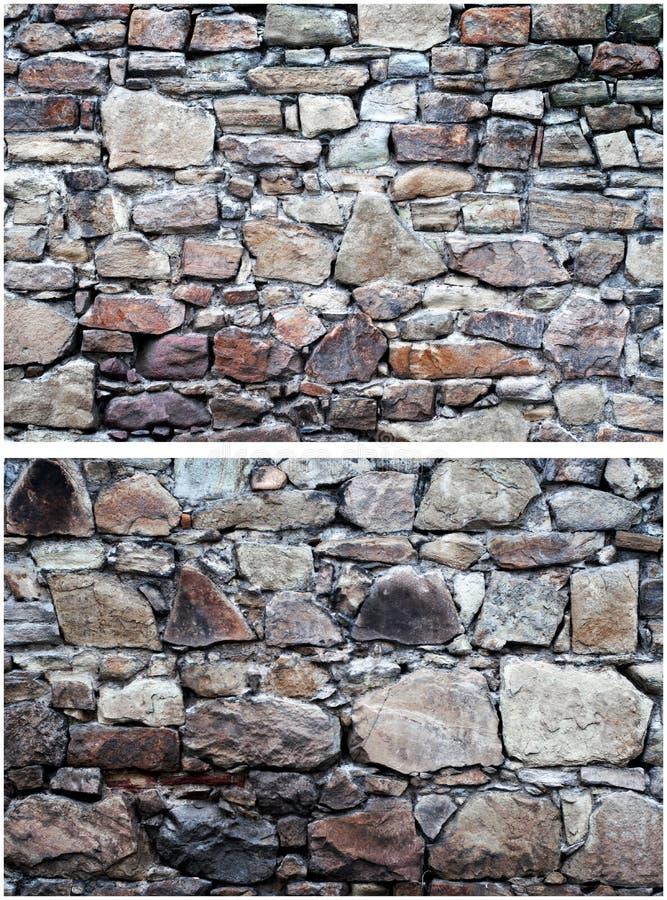 Download Dwa kamiennej ściany zdjęcie stock. Obraz złożonej z brukowiec - 28970800