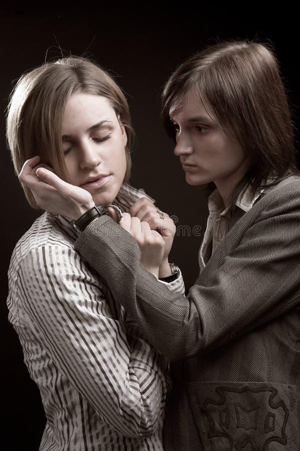 Dwa kobieta wpólnie zdjęcie stock