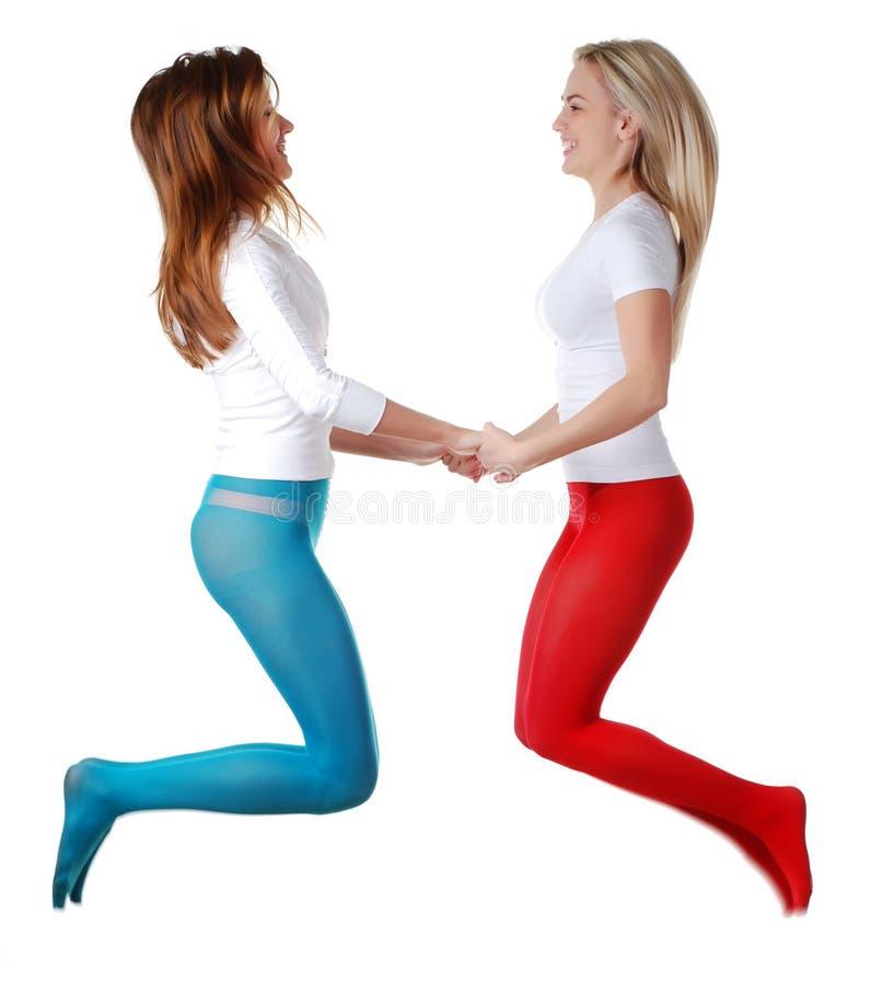 dwa kobiety fotografia stock