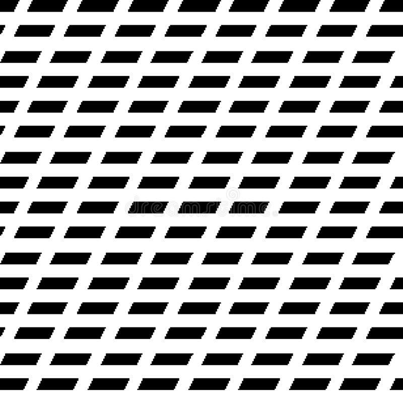 Dwa kolorów Geomatric powtórki wzoru abstrakcjonistyczny komputer wytwarzający wizerunek i tapetowy projekt ilustracji