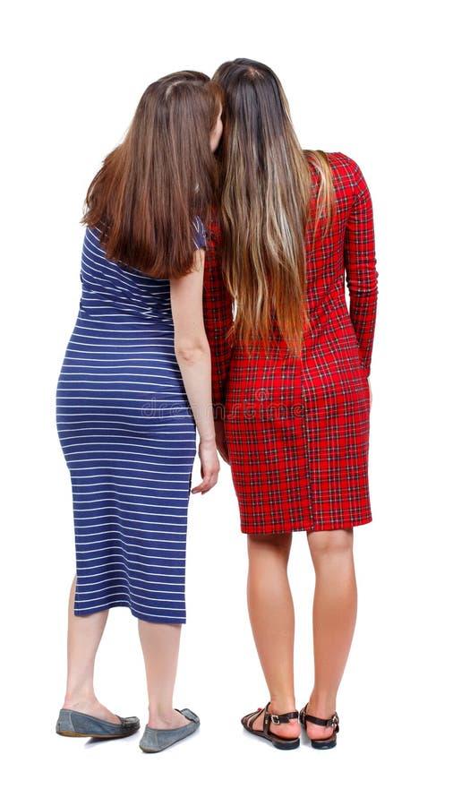 Dwa młodych kobiet przyjaciela babiarstwo fotografia royalty free