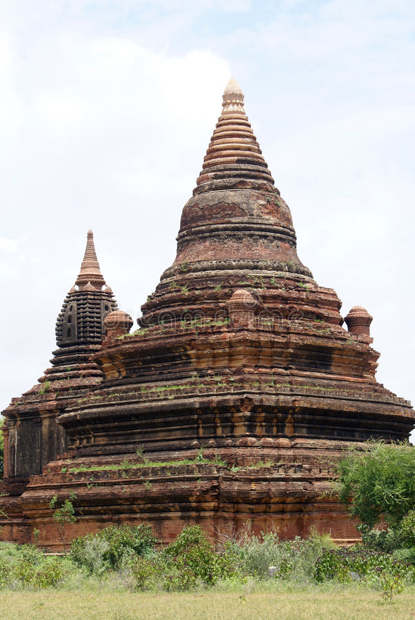 dwa pagody obrazy stock