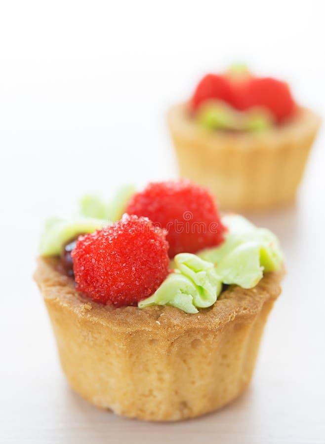 Piękni cukierków torty obraz royalty free