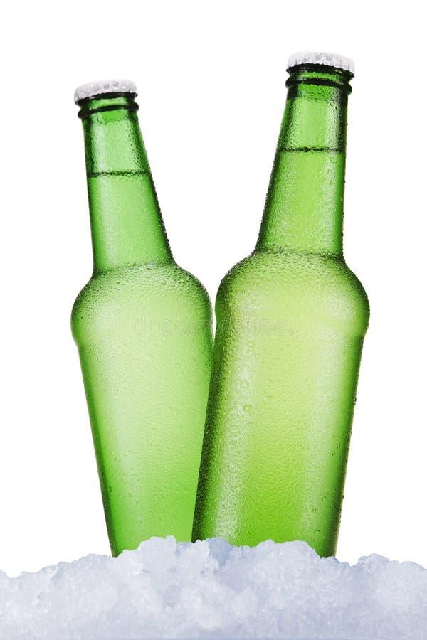 Dwa piwa zdjęcie royalty free