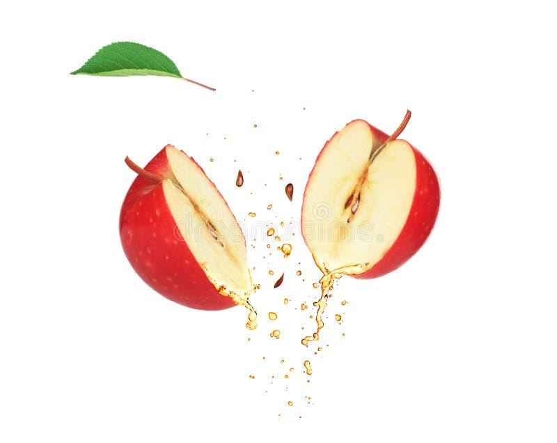 Dwa plasterka Apple zdjęcie royalty free