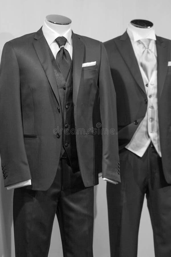 Dwa poślubiają kostiumu obrazy stock