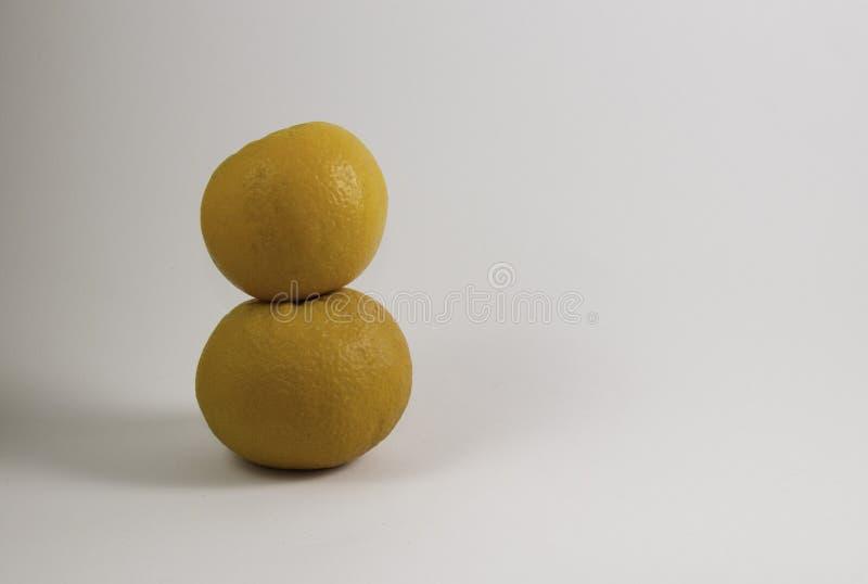 Dwa pomarańcze wierza fotografia royalty free