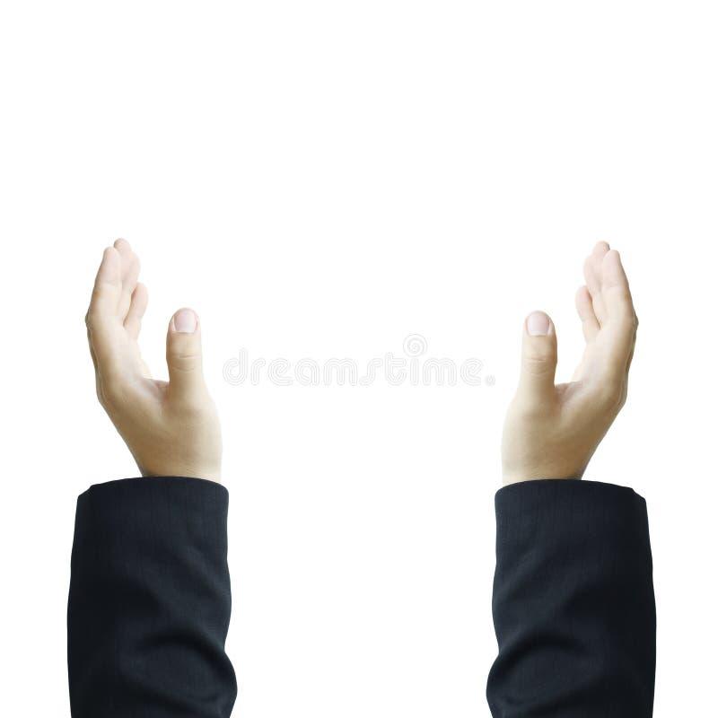 Dwa ręk dosięgać fotografia stock