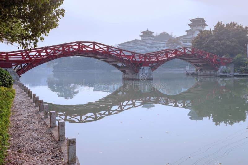 Dwa rzeki i Cztery jeziora, Guilin zdjęcie royalty free