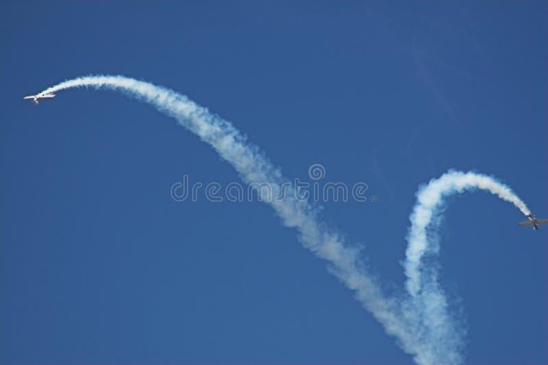 dwa samoloty obraz royalty free