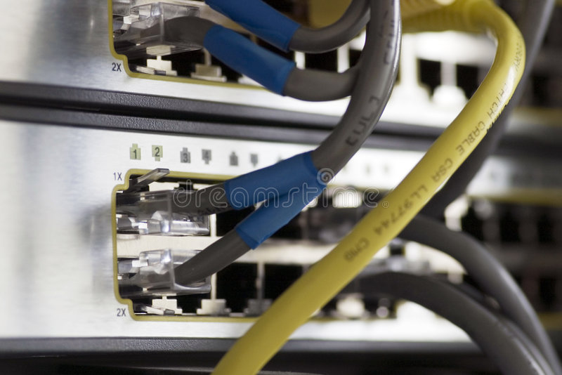 dwa switchs obraz stock