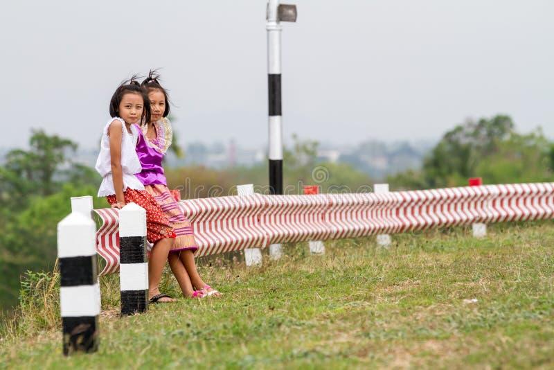 Dwa tajlandzkiej dziewczyny zdjęcie stock
