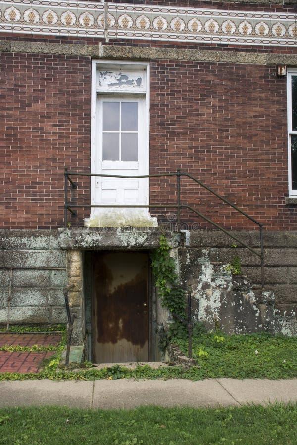 Dwa wejścia zdjęcia stock