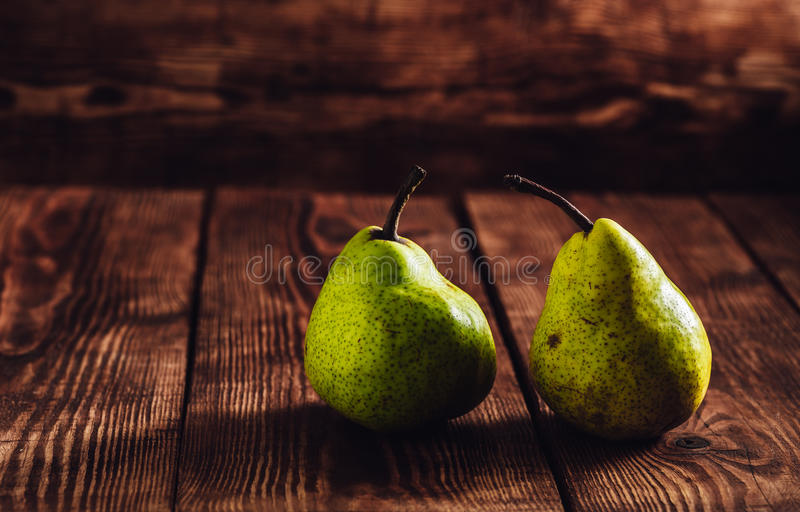 Dwa Zielonego tyły fotografia stock
