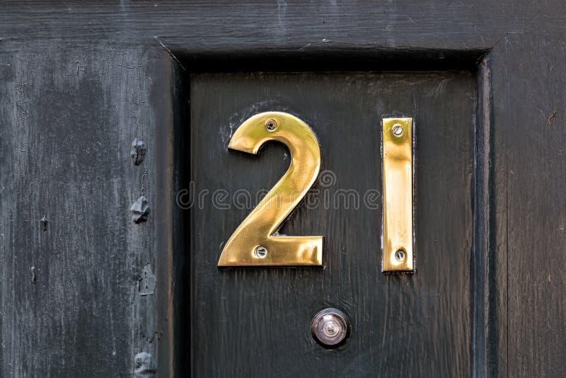 Dwadzieścia Jeden zdjęcie stock