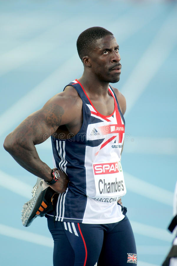 Download Dwain Chambers Of Great Britain Editorial Stock Image - Image: 15475064