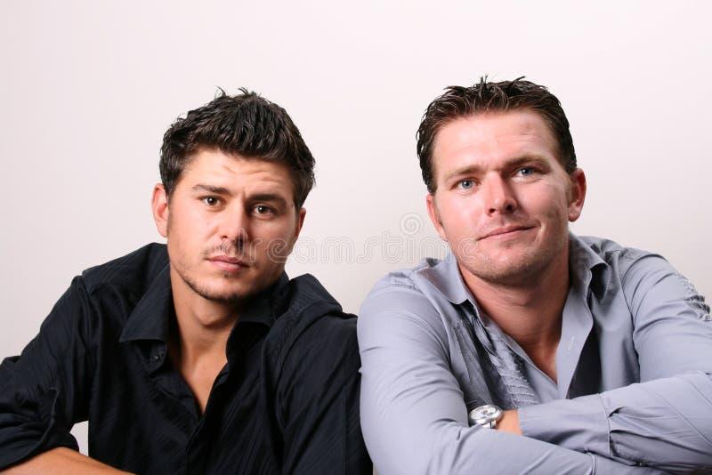 dwaj bracia obrazy royalty free