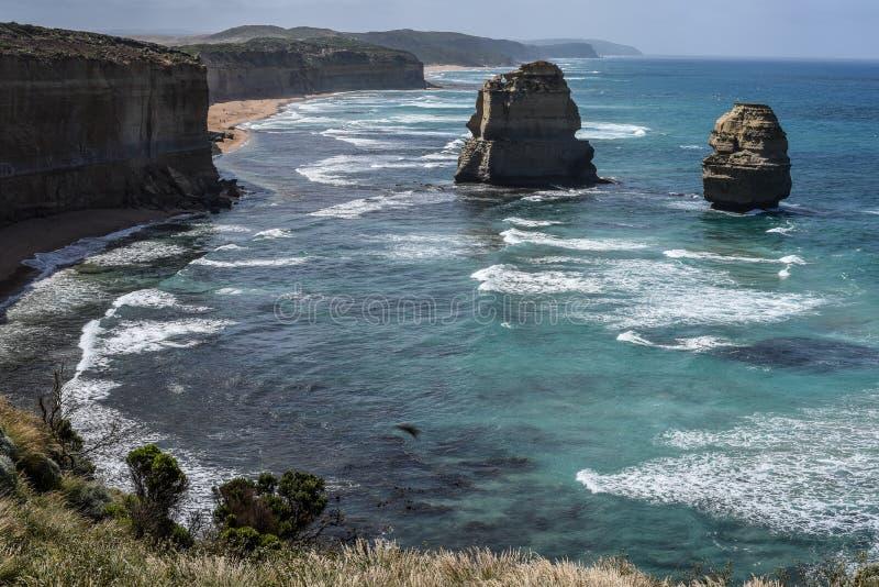Dwanaście apostołów, Wiktoria, Australia zdjęcia stock