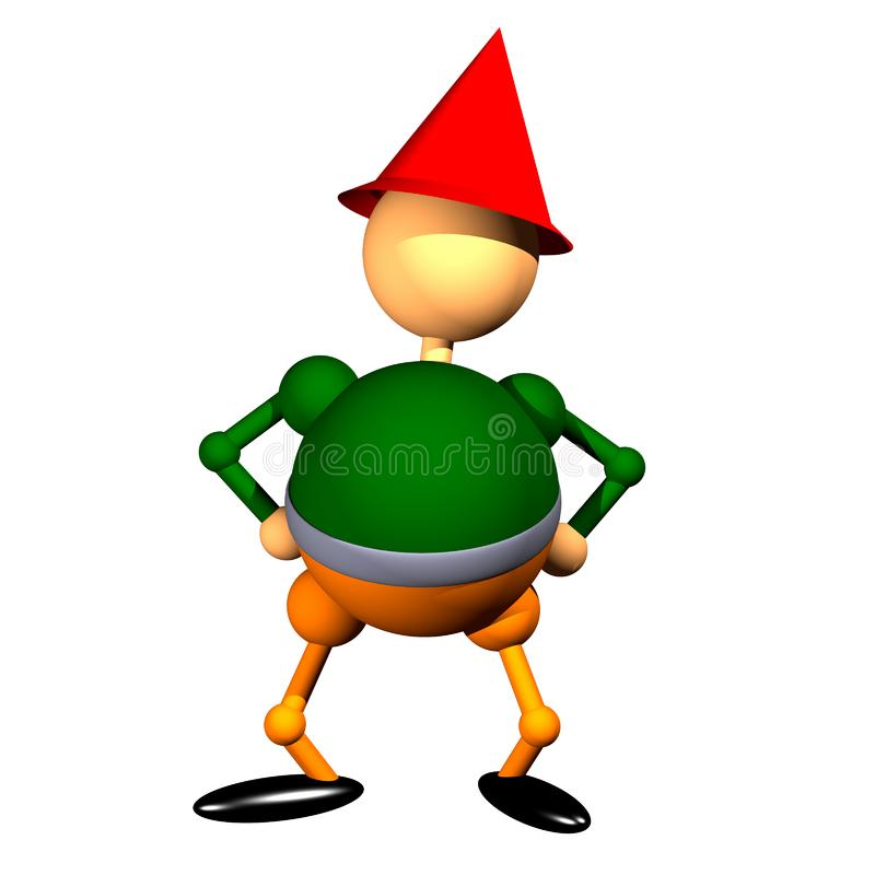 Dwarf clipart stock image