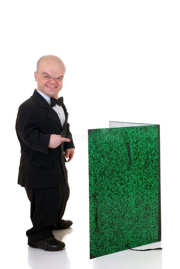 Free Dwarf, Little Man Waiter Royalty Free Stock Images - 6585009