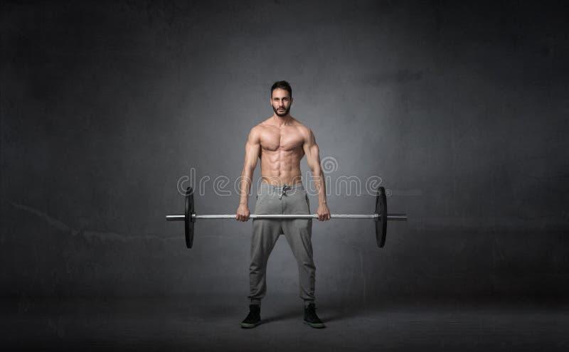 Dwars geschikter gewichtensaldo stock afbeeldingen