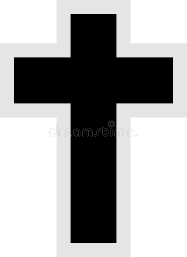 Dwars pictogram royalty-vrije illustratie