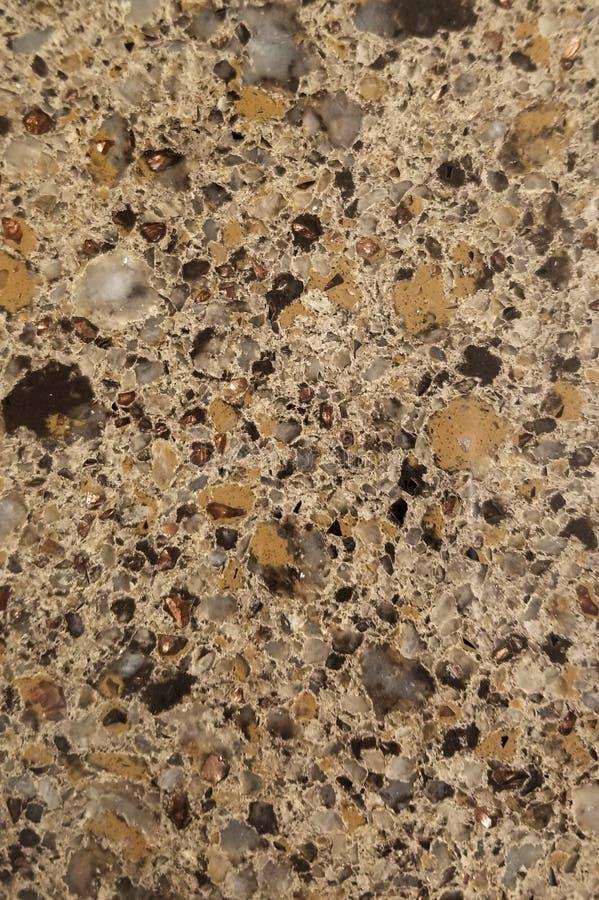 Dwarsdoorsnede van de Achtergrond van de Granietsteen stock foto's