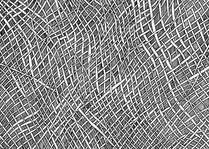 Dwarslijnpatroon stock afbeelding