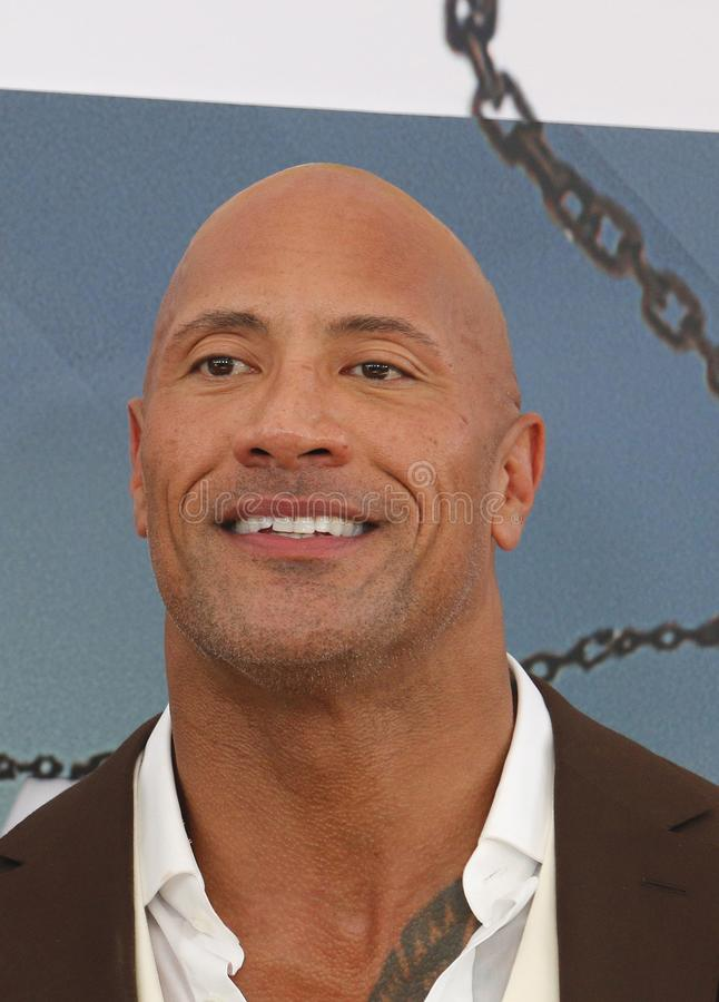 Dwayne Johnson photographie stock
