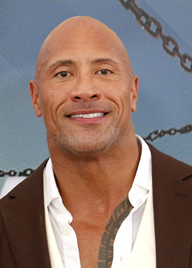 Dwayne Johnson images stock