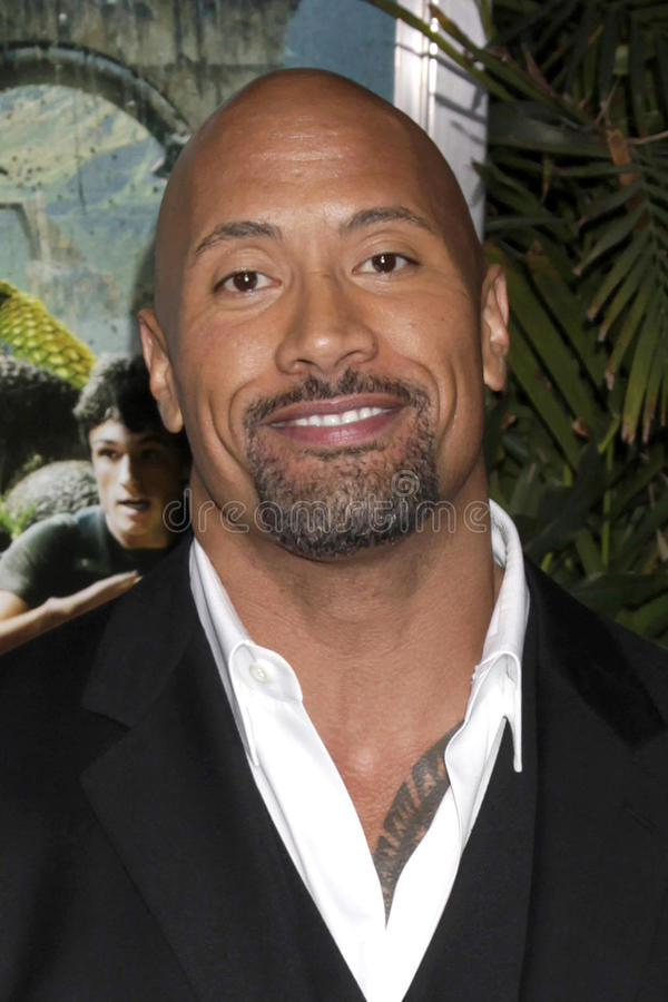Download Dwayne Johnson editorial stock photo. Image of chinese - 23278778