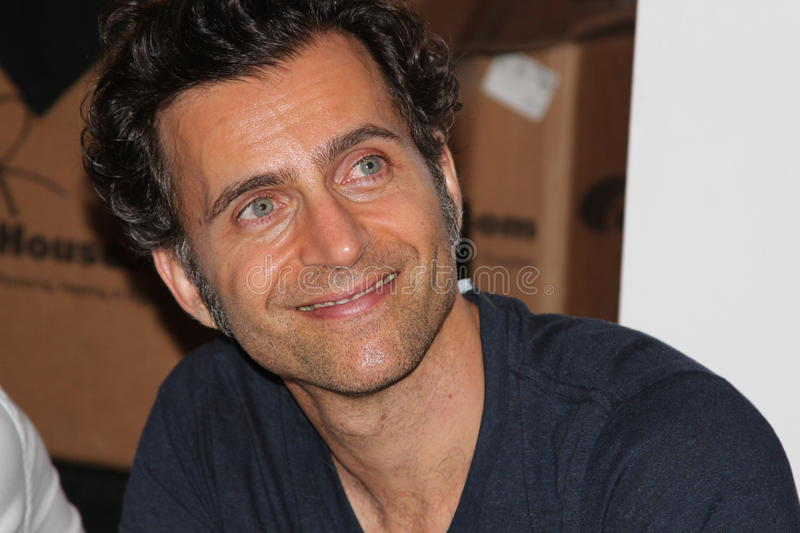 Dweezil Zappa. Rock star and Frank's son stock photo