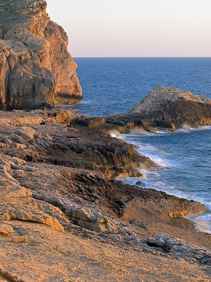 Download Dwejra Seascape stock image. Image of mediterranean, beautiful - 14972545