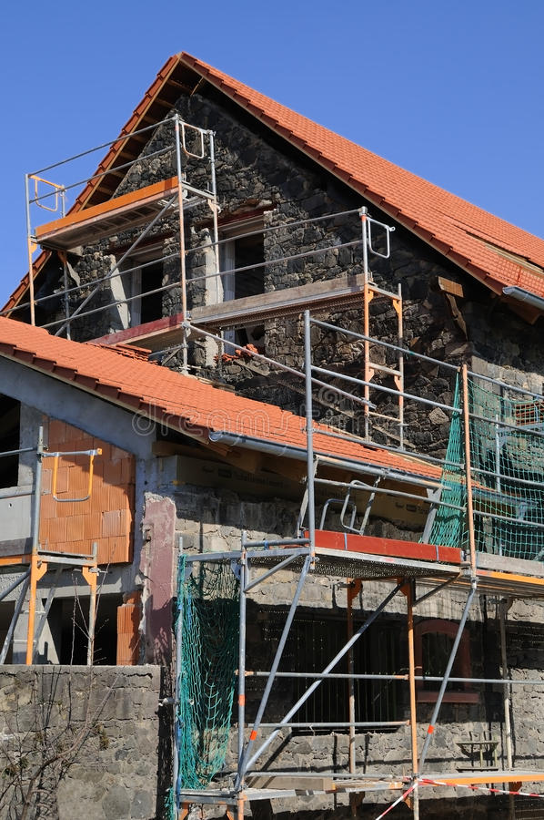 Download Dwelling house renovation stock photo. Image of board - 24433690