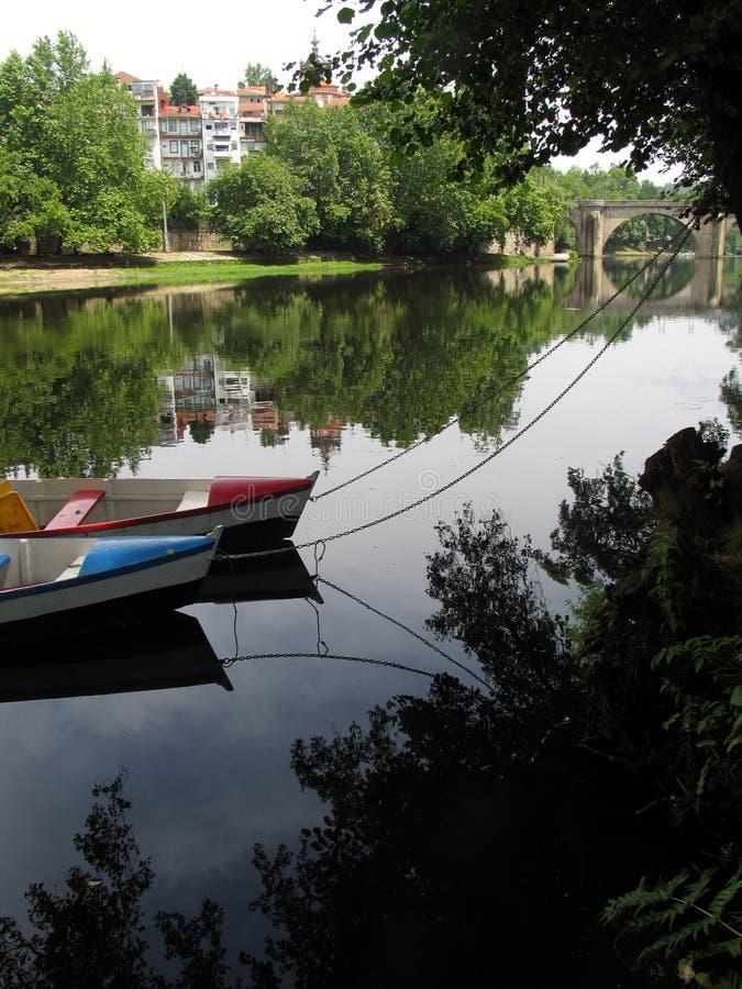 dwie łodzie obrazy royalty free